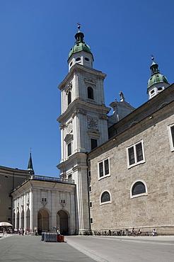 Salzburg Cathedral, UNESCO World Heritage Site, Salzburg, Austria, Europe
