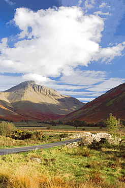 Great Gable, 2949ft, Wasdale Valley, Lake District National Park, Cumbria, England, United Kingdom, Europe