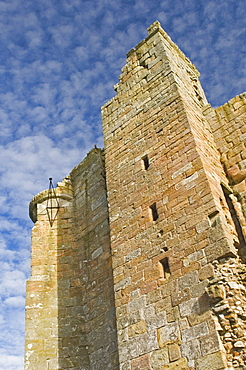 Eggleston Castle, a fortified border house, Northumbria, England, United Kingdom, Europe