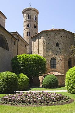 The 5th century Battistera Neoniana, UNESCO World Heritage Site, Ravenna, Emilia-Romagna, Italy, Europe