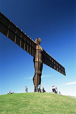 Angel of the North, Gateshead, Tyne and Wear, England, United Kingdom, Europe