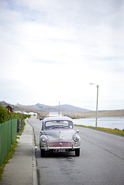 Old car, Port Stanley, Falkland Islands, South America