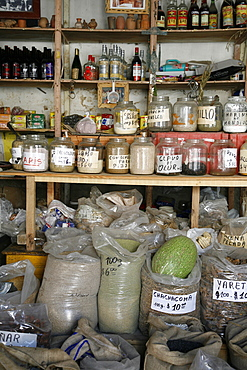 Local grocery shop in Cafayate, Salta Province, Argentina, South America
