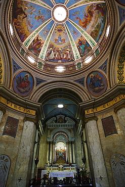 The Church at the Carmelite Stella Maris Monastery on Mount Carmel, Haifa, Israel, Middle East