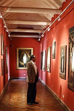 Vice Royal Gallery at Casa Cabrera (Museum of Pre-Columbian Art), Cuzco, Peru, South America