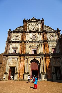 Basilica of Bom Jesus, UNESCO World Heritage Site, Old Goa, Goa, India, Asia
