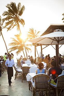 Thalassa restaurant, Vagator, Goa, India, Asia