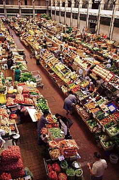 Lisbon market, Mercado da Ribeira, Lisbon, Portugal, Europe
