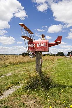 Roadside mailbox, New Zealand, Pacific
