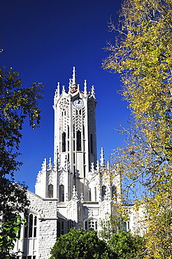 Clock Tower, University of Auckland, Auckland, North Island, New Zealand, Pacific