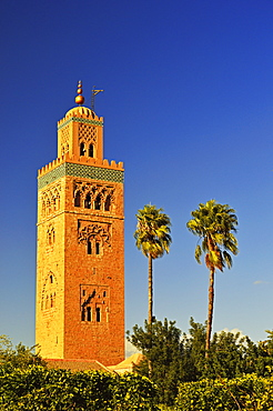 Koutoubia Mosque, Marrakesh, Morocco, North Africa, Africa
