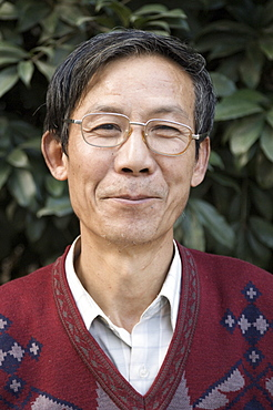 Portrait of a Chinese man, Huangshan City (Tunxi), Anhui Province, China, Asia