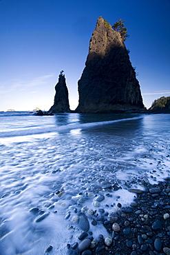 Rialto Beach, Olympic National Park, UNESCO World Heritage Site, Washington State, United States of America, North America