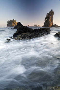 Second Beach, Olympic National Park, UNESCO World Heritage Site, Washington, United States of America, North America