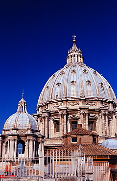 St Peters Basilica, Italy, Rome, Vatican City