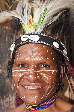 Dani woman, Baliem Valley, West Papua, Indonesia, Southeast Asia, Asia