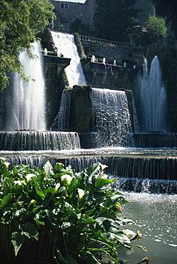 Tivoli Gardens, Villa d'Este, UNESCO World Heritage Site, Rome, Lazio, Italy, Europe
