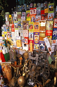 Chiclayo the Mercado de Brujos or Witchcraft Market is one of the largest in S America with many choices of herbal medicines, potions & charms, North Coast, Peru