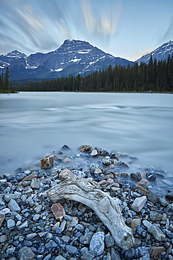 Athabasca River, Jasper National Park, UNESCO World Heritage Site, Alberta, Canada, North America