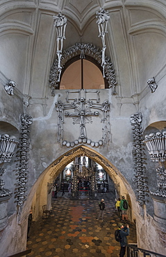 Sedlec Ossuary, Kutna Hora, Czech Republic, Europe