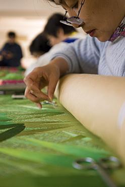 The Institute of Suz Hou Embroidery, Suzhou, Jiangsu province, China, Asia