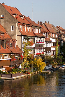 Klein-Venedig (Little Venice), Bamberg, Bavaria, Germany, Europe