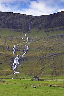 Saksunardalur valley near Saksun, Streymoy, Faroe Islands (Faroes), Denmark, Europe