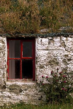 Abandoned house, Duncansclett, West Burra, South Mainland, Shetland Islands, Scotland, United Kingdom, Europe