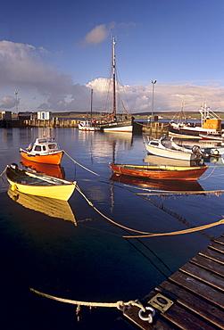 Lerwick harbour, Mainland, Shetland Islands, Scotland, United Kingdom, Europe