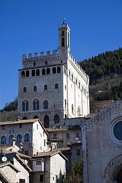 Palazzo dei Consoli, Gubbio, Umbria, Italy, Europe
