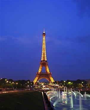Eiffel Tower, Paris, France, Europe