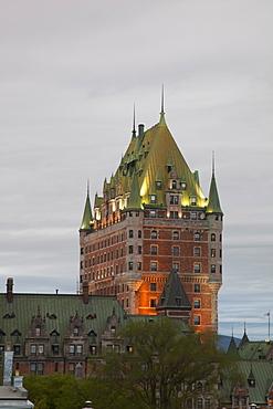 Hotel Chateau Frontenac, Quebec City, Quebec, Canada, North America