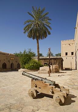 The Nizwa fortress, Nizwa, Oman, Middle East