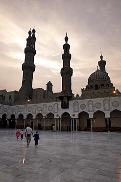 Al-Azhar Mosque, Cairo, Egypt, North Africa, Africa