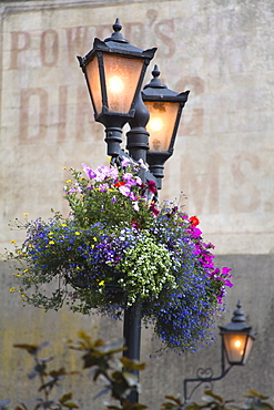 Street Lamps, Kilkenny City, County Kilkenny, Leinster, Republic of Ireland, Europe
