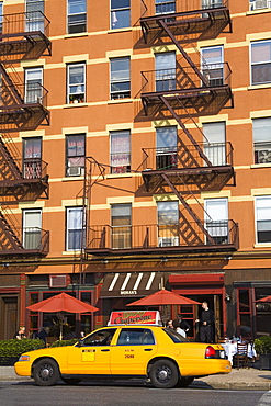 Restaurant in the Chelsea District, Midtown Manhattan, New York City, United States of America, North America