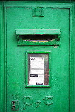 Post Box in Tipperary Town, County Tipperary, Munster, Republic of Ireland, Europe
