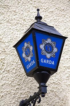 Police Station Lamp, Adare Village, County Limerick, Munster, Republic of Ireland, Europe