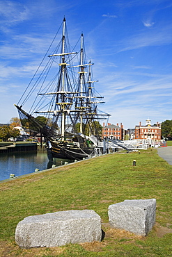 Friendship of Salem sailing ship, Salem, Greater Boston Area, Massachusetts, New England, United States of America, North America