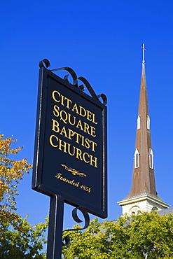 Citadel Square Baptist Church, Charleston, South Carolina, United States of America, North America