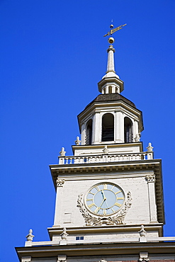 Independence Hall, Independence National Historical Park, Old City District, Philadelphia, Pennsylvania, United States of America, North America