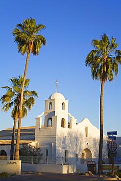 Old Adobe Mission Church, Scottsdale, Phoenix, Arizona, United States of America, North America