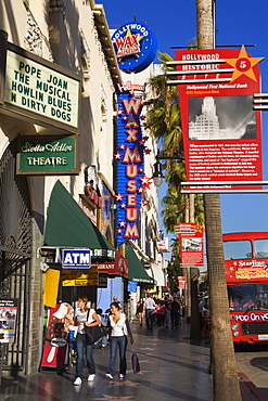 Wax Museum on Hollywood Boulevard, Hollywood, California, United States of America, North America