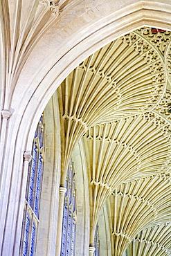Bath Abbey, UNESCO World Heritage Site, Somerset, England, United Kingdom, Europe