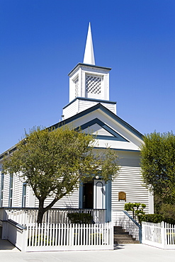 Glad Tidings Church, San Juan Bautista, California, United States of America, North America