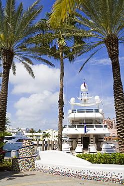 Atlantis Marina on Paradise Island, Nassau City, New Providence Island, Bahamas, West Indies, Central America