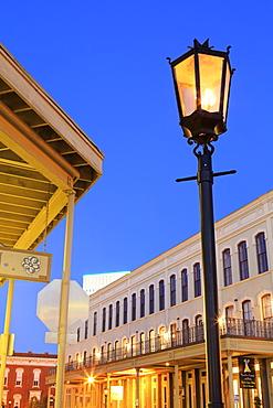 Historic Strand District, Galveston, Texas, United States of America, North America