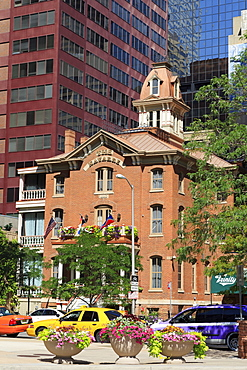 Navarre Building on Tremont Street, Denver, Colorado, United States of America, North America