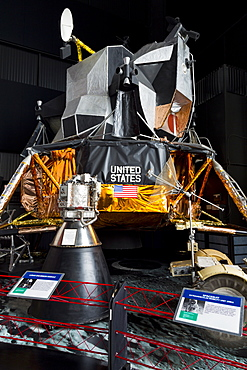 Lunar Module, United States Space and Rocket Center, Huntsville, Alabama, United States of America, North America