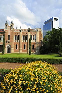 Rice University, Uptown District, Houston, Texas, United States of America, North America
